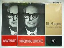 KLEMPERER CONDUCTS BACH BRANDENBURG CONCERTOs PO EMI COLUMBIA SAX 2408-9