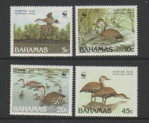 Bahamas - 1988, Black Billed Whistling Duck, Birds set - MNH - SG 824/7