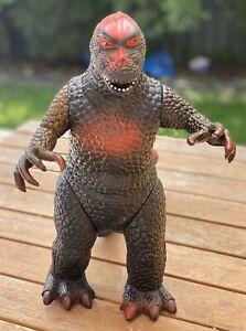 Vintage Godzilla 1997 Dormei RARE Red Action Figure Toy