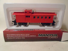 MANTUA CLASSICS #725006 HO SCALE CENTRAL PACIFIC OLD TIME CABOOSE NEW IN BOX