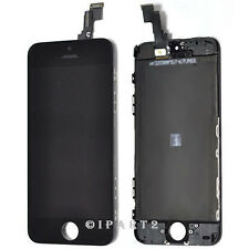 LCD Display Screen + Touch Digitizer Glass Assembly for Apple iPhone 5C (Black)