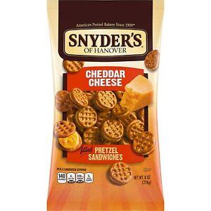 Snyder's Of Hanover Cheddar Cheese Filled Pretzel Sandwiches (1) 8 oz (226g)