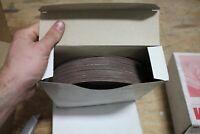 "3M 20868 120 Grit 8"" Abrasive Sanding Discs NEW BOX OF 50"