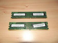 Samsung PC2-6400 (DDR2-800) 2GB UDIMM 800 MHz PC2-6400 DDR2 SDRAM Memory...