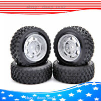 4X 1:10 Rubber Rally Tyre Tires &Wheel Rim 12mm Hex For RC Car HSP HPI11083