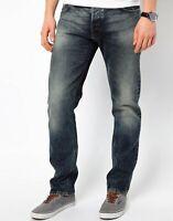 B-Ware |Nudie Herren Regular Fit Jeans | Hank Rey Strikey Nails |W32 L32