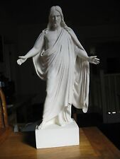Belosol Statuary Jesus Christ Open Arms Marble Statue 19 inches tall