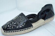 New YSL Saint Laurent Shoes Black Flats Ballet Size 39 Espadrille