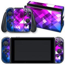 """Nintendo Switch Skin selbstklebend """" PLEXUS """" Sticker Aufkleber"""