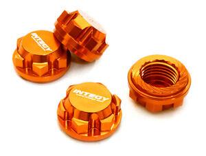 Integy 17mm Hex Wheel Nuts (4) for Traxxas X-Maxx C27073ORANGE