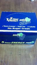 5 HOUR ENERGY Shots GRAPE - LOT OF (24) SHOTS