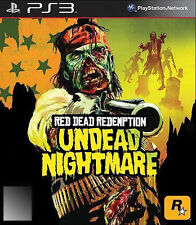 Red Dead Redemption: Undead Nightmare (Sony PlayStation 3, 2010) Used