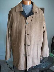 Lauren Ralph Lauren Overcoat Microfiber Coat Jacket 42L Absolutely Stunning!