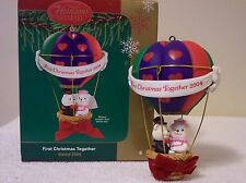 AMERICAN GREETING, CARLTON CARDS  ORNAMENT FIRST CHRISTMAS TOGETHER..2004