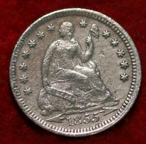 1855-O New Orelans Mint Silver Seated Half Dime