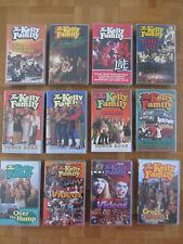 The Kelly Family, 12 VHS-Kassetten, Sammlung