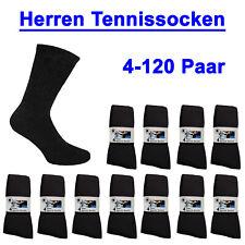 4-120 Paar Tennissocken Freizeitsocken Gr. 39 40 41 42 43 44 45 46 47 48 49 50!!