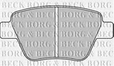 REAR BRAKE PADS SET BORG & BECK FOR VW TOURAN MPV 2.0 103KW