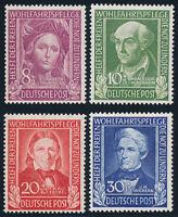 BUND 1949, MiNr. 117-120, 117-20, postfrisch, Mi. 110,-