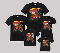 Blaze Birthday Shirt Personalized Custom T Shirt Family Black shirts