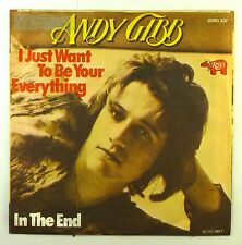 """7"""" single-Andy Gibb-i just want to be your everything/in the end-s1826"""