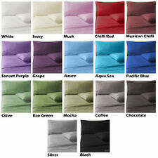 Unbranded Cotton Sateen Bedding Sheets