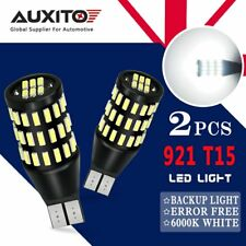 AUXITO 2x T15 Backup Reverse Light CANBUS W16W 192 921 912 LED 54SMD 6500K WHITE