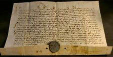 POPE PAUL V BULLA & METAL LEAD SEAL - Pope who persecuted Galileo Galilei - 1620