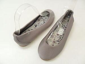 Gravis Eva Ladies Casual Ballet Flats Shoes Silver Brown Black  Size Us 6 -  7