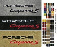 Lloyd Mats Porsche Cayenne S Custom Embroidered Front Floor Mats (2003 & Up)