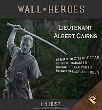 RP Models Lt Albert Cairns VC WW2 Unpainted 1/9th scale bust kit Ltd Edition OOP