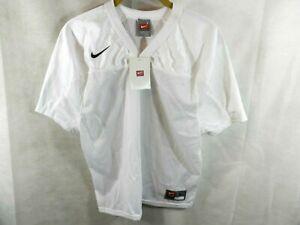 Nike Boys / Youth TenaCity  Athletic Training Jersey Youth Large White