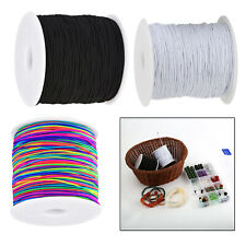 1mm Elastic Cord Round Band Strap Sewing Craft For Face Mask Coverings