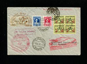 Zeppelin Sieger 150B 3rd South America Flight Vatican TreatyDispatch BerlinFeed
