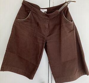 Ben Sherman Short Pants Brown S Size Leather Details