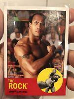 2006 Topps WWE Heritage II #10 The Rock Dwayne Johnson WWF Wrestling - QTY
