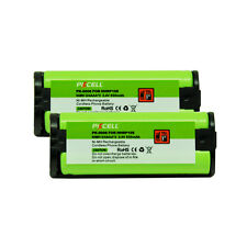 2 Cordless Home Phone Battery Replacement 850mAh  For Panasonic HHR P105 TYPE 31