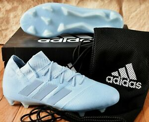 Adidas Nemeziz Messi 18.1 FG - New Men's Soccer Cleats Firm Ground Ash Blue