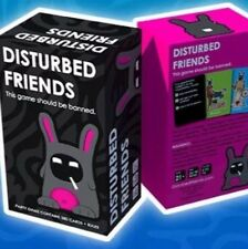 Disturbed Friends - Adult, Funny, Awesome Party Table Game