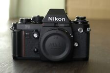 Nikon F3 Eye Level 35mm SLR Vintage Film Camera Black Body recent CLA
