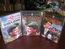 "CLASSIC '50s TV SERIES 9 DVD SET:""THE ADVENTURES OF ROBIN HOOD SEASONS 1-3"