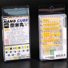 Maru World's Smallest Cube Nano Cube 15mm 3x3x3 Magic Cube Yellow D.I.Y. KIT