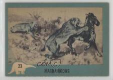 1961 Nu-Cards Dinosaur Series #23 Machairodus Non-Sports Card 0s4