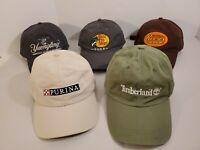 Lot Of 5 Baseball Caps/Adjustable Hats (Timberland/Purina/Bass Pro/Yuengling+1)
