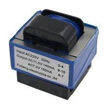 New microwave oven parts transformer AC 220V to 11V/7V 140mA/180mA 7-pin