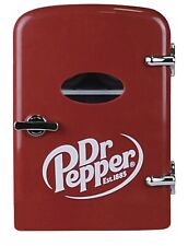 New Collectors Dr Pepper Portable 6 Can Mini Fridge