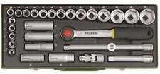 """Proxxon 1/2"""" Steckschlüsselsatz 8-34mm mit Zündkerzeneinsätzen 23000"""