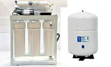 Light Commercial Reverse Osmosis Water Filter System 300 GPD w/booster pump 110V