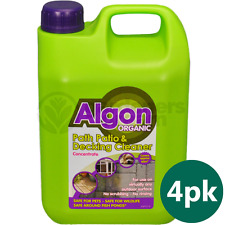 4 X 2.5L ALGON ORGANIC CONCENTRATE PATH AND PATIO OUTDOOR CLEANER MOSS ALGAE
