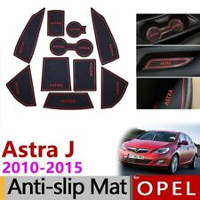 Anti-Slip Rubber Gate Slot Cup Mat For Opel Astra J  Holden Accessories Sticker